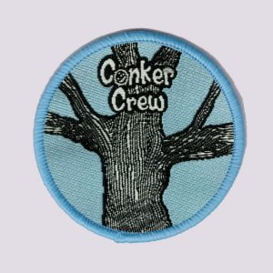 Tree climbing badge