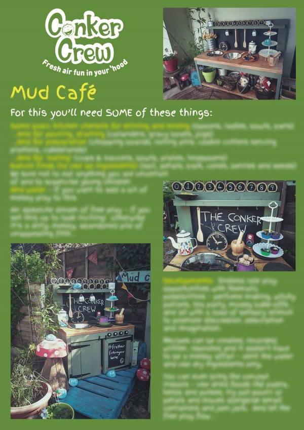 Conker Crew Play Prompts - Mud Cafe
