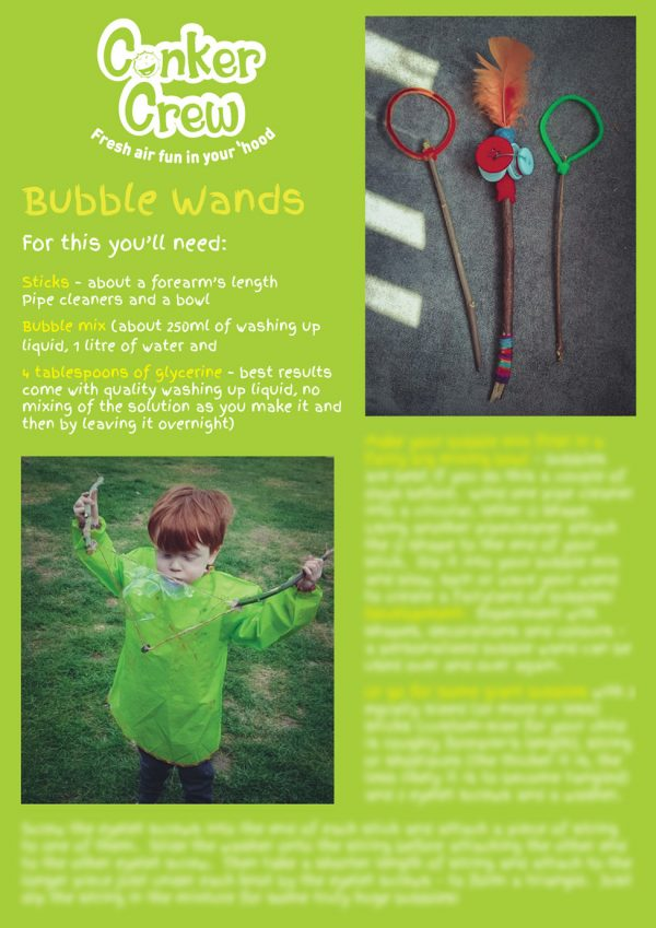 Conker Crew Play Prompts - Bubble Wands