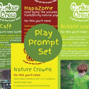 Conker Crew Play Prompt Set