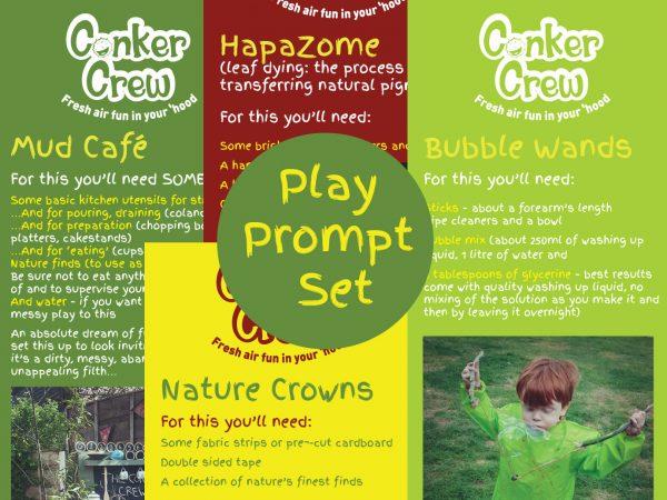 Conker Crew Play Prompt Set